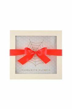 Coleção de Natal de Charlotte Olympia -gift box