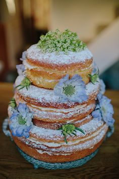 naked cake from love luxe blog three tier victoria sponge cake recipe