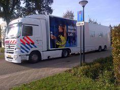 Vanaf vandaag (27 oktober 2014) zet de Nederlandse politie het innovatieve Mobile Media Lab in voor het testen van haar communicatiemiddelen. #politie #Nederland #Mobilemedialab