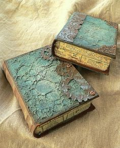 Altered paper mache books, aww i already see paper mache booklike boxes, it will be sooo lovely i promise!
