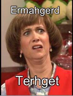 THIS is the ORIGIN of the Ehrmergerd....Kristin Wiig SNL...