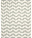 RugStudio presents Safavieh Chatham CHT715E Grey / Ivory Hand-Tufted, Good Quality Area Rug