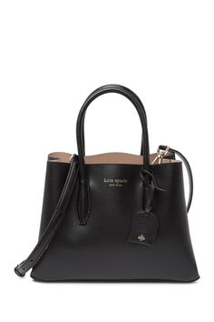 Small Leather Satchel by kate spade new york on Pebbled Leather, Leather Crossbody, Leather Bags, Leather Purses, Kate Spade Bag, Kate Spade Satchel, Metallic Leather, Purses And Handbags, Stylish Handbags