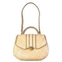 Refinery29 Shops: Dree Harper - 70s ALEX Italian structured straw bag - Dree Harper - Boutiques