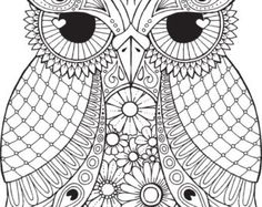 Lana Owl Colour with Me HELLO ANGEL by HelloAngelCreative