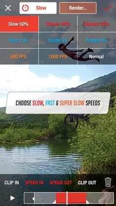 SloPro - Slow Motion Video compatible with iPhone, iPad, and iPod touch. free games for iphone SloPro description : The Slow Motion Video App on