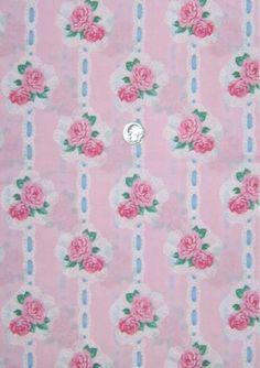 Daisy Kingdom Ballet Rose Bouquet fabric by pamela44 on Etsy, $8.00