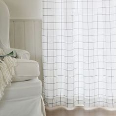 Simple and modern. Check Curtains, Panel Curtains, Home Goods, Mood, Inspired, House Styles, Simple, Modern, Trendy Tree