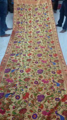 Benarasi Paithani Silk Saree