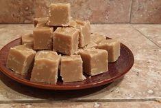 Brown Sugar Fudge Recipe | Allrecipes Fudge Recipes, Candy Recipes, Holiday Recipes, Cookie Recipes, Dessert Recipes, Holiday Foods, Types Of Desserts, No Bake Desserts, Just Desserts