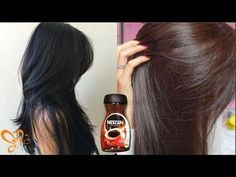 I Use This Homemade Hair Dye   How To Dye Hairs At Home With Home Ingredients   Get Reddish Hairs - YouTube
