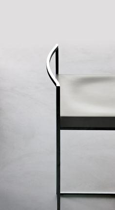 Love the sleek back shape of th LaPalma stool Udara Design - Carissa Donsker
