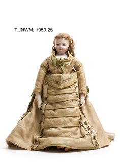 https://flic.kr/p/BAdVoq   Doll, 1870   Doll made by Jumeau of Paris 1870. © Tunbridge Wells Museum & Art Gallery