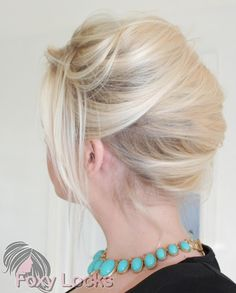 The French Twist is a very elegant and classic hairstyle. It can be easily changed up, I prefer mine not so tight and slick but more loose. Plus Size Hairstyles, Classic Hairstyles, Haircuts For Long Hair, Older Women Hairstyles, Long Hair Cuts, Elegant Hairstyles, Up Hairstyles, Pretty Hairstyles, Evening Hairstyles