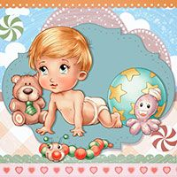 Baby+and+hisToys+-+Digital+Stamp+-+$3.00+:+Digital+Stamps,+Scrapbooking,+Crafts,+Artisan+Resources,+cardMaking,+Paper+Crafts,+Digital+Crafting+by+The+Paper+Shelter