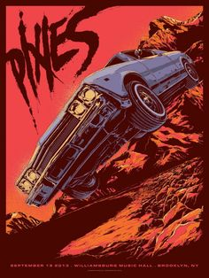 Pixies by Ken Taylor >>> Love the old almost comic book feel to this, also great colors. The type is also on point.