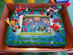 Transformers Rescue Bots Birthday