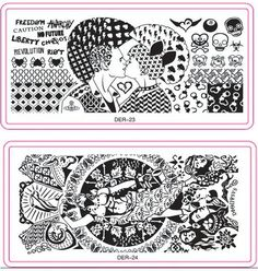 32pcs Nail art Stamp Image Plates Nail Art Stamping Sets Fairy Tales 6x12cm Retro Fashion Design Konad DIY Nail Template NA142-in Nail Art Templates from Health & Beauty on Aliexpress.com | Alibaba Group