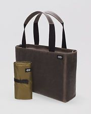 56ff15d8a NWT Jack Spade Dad's Utility Waxwear Holdall Tote in Chocolate w Changing  Pad Jack Spade,