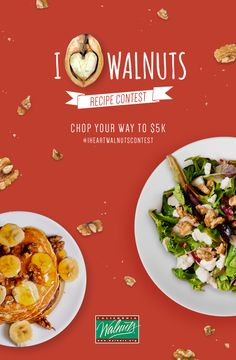 60 best i 3 walnuts recipe contest images on pinterest walnut announcing the i heart walnuts recipe contest submit a walnuts recipe and you could win forumfinder Gallery