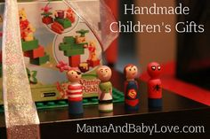 Some handmade children's gifts ideas for boys. #diy