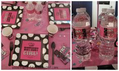 Diva Birthday Party Ideas | Diva Themed Girl Birthday Party