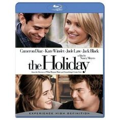 The Holiday (Blu-ray Disc Cameron Diaz Kate Winslet Jude Law Jack Black Kate Winslet, Jude Law, Cameron Diaz, Amanda Diaz, Jacob Black, Funny Movies, Great Movies, Comedy Movies, Awesome Movies