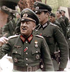 WW2 General Esteban Infantes Spanish General of the División Azul
