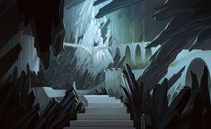 ArtStation - Crystal cave , Daniel Conway