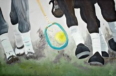 Polocrosse Horse Got It by TheEquestrianista on Etsy