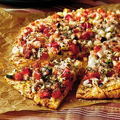 Quick-Fix Pizzas and Calzones - Southern Living