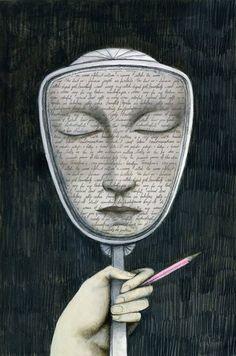 """Alejandro Jodorowsky:Para que desarrolles tu conciencia, hoy te voy a proponer un importante ejercicio de liberación mental.Trabajarás tu """"auto-engaño sagrado"""". El inconsciente, cuando le mientes sabiendo que le mientes, acepta como verdadero lo sublime que le dices que eres y comienza a realizarlo. Compra un espejo nuevo (en el que nadie se haya mirado), escóndelo y úsalo sólo tú mism@ …"""
