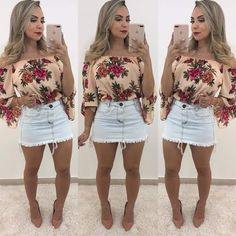 Swag Outfits For Girls, Dressy Outfits, Summer Outfits, Girl Outfits, Cute Outfits, Fashion Outfits, Country Chic Outfits, Cute Dresses, Short Dresses