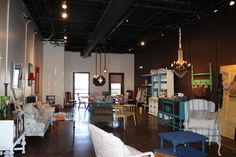 GREENVILLE, SOUTH CAROLINA; this is Lindsay's store Vintage Made Modern. It's upstairs on the first floor - or is that the second floor in the US?