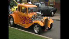 Hot Car Paint Jobs | Hot Rod Flame Paint Job
