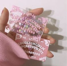 Discovered by libytallulah. Find images and videos about pink, aesthetic and ouija on We Heart It - the app to get lost in what you love.