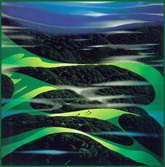 Eyvind Earle: Green Fields