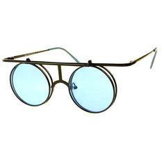 Steampunk Retro Style Flip Up Lens Metal Round Sunglasses – FREYRS - Beautifully designed, cheap sunglasses for men & women Trending Sunglasses, Cheap Sunglasses, Round Sunglasses, Mirrored Sunglasses, Steampunk, Oakley, Sunglasses Women Designer, Retro Stil, Bracelet Designs