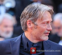 Mads Mikkelsen at the Cannes Film Festival Anniversary Soiree held at Palais des Festivals, 23 May 2017 Cannes 2017, Palais Des Festivals, Close Up Portraits, 70th Anniversary, Mads Mikkelsen, Cannes Film Festival, I Love Him, Crushes, Hot