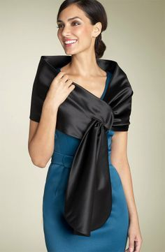 maggy-london-pull-through-satin-stole