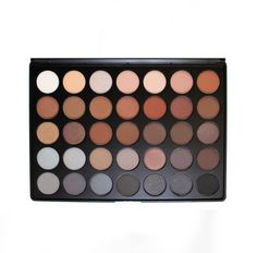 Morphe Brushes 350 - 35 Color Nature Glow Eyeshadow Palette by Morphe Brushes - Cute Makeup Guide Morphe 35t, Paleta Morphe, Make Up Palette, Glow Palette, Neutral Palette, Makeup Morphe, Skin Makeup, Beauty Makeup, Makeup Brushes