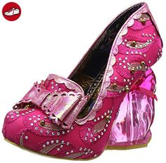 Irregular Choice Damen Hoppity Pumps, Pink (Pink), 41 EU (*Partner