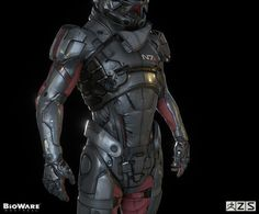 Share this: Facebook883 Twitter Google+ Reddit5 By Tom Phillips Published 03/03/2016  Mass Effect: Andromeda's main character has been shown off in a new level of detail, thanks to a BioWare artist.  High-resolution artwork for the character, referred to as the Pathfinder, has been posted online by Furio Tedeschi, a senior character artist at Mass Effect: Andromeda developer BioWare Montreal.