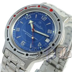 Vostok Amphibian, Diver Watch, Russian, Analog, Mechanical: Automatic #420007 in…