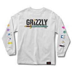 Grizzly Griptape Men/'s Horror Freddy Short Sleeve T Shirt Black Tee T-Shirt Clot