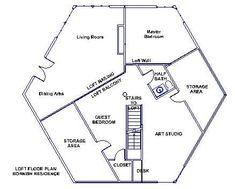 Hexagon House Cool Floorplans Pinterest House And