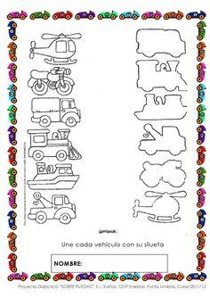 SOBRE RUEDAS. PROYECTO DE EDUCACIÓN INFANTIL. 3 AÑOS. by MariAn Vidal - issuu