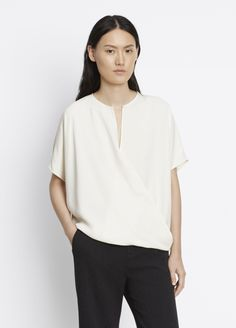Extended Sleeve Top for Women | Vince