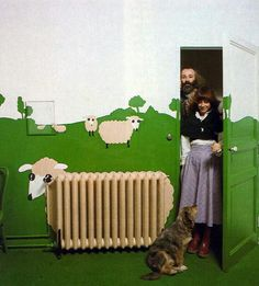 Sheep radiator