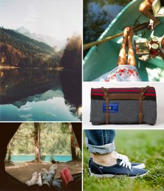 camping collage via sfgirlbybay.  great post with more great images.